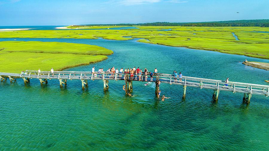Cape Cod Bridge Jumping by Michael Hughes