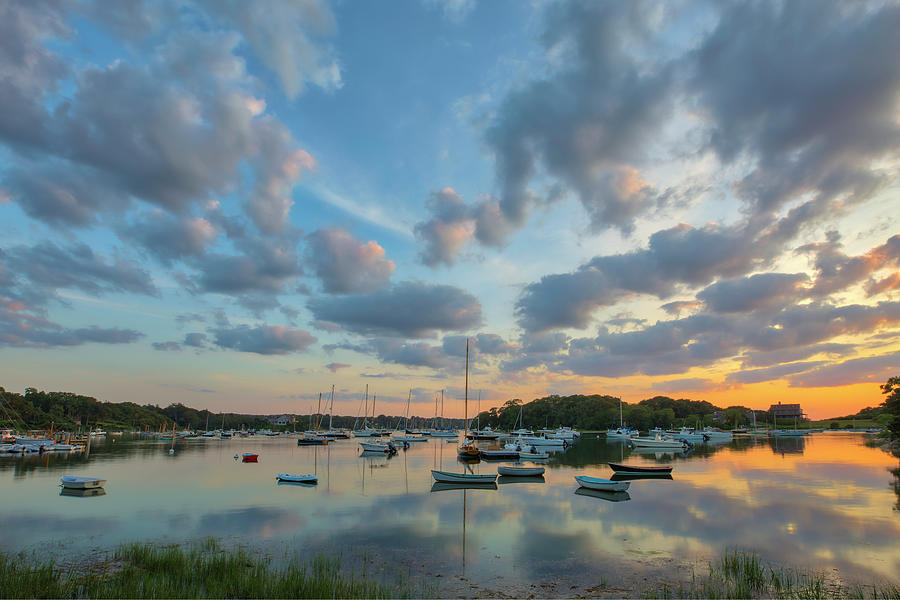 Cape Cod Quissett Harbor by Juergen Roth