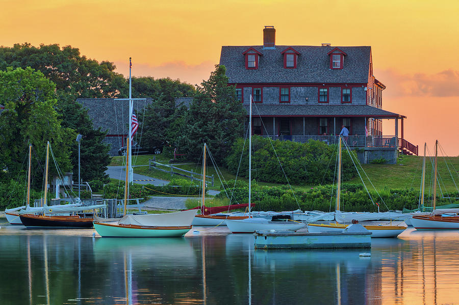 Cape Cod Quissett Yacht Club by Juergen Roth