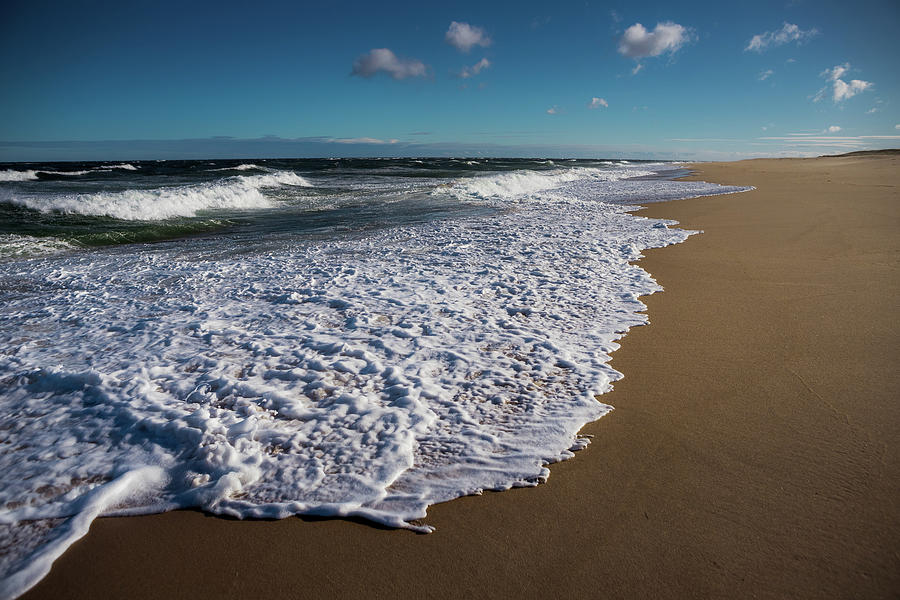 Cape Cod Seashore - Race Point by Steven David Roberts