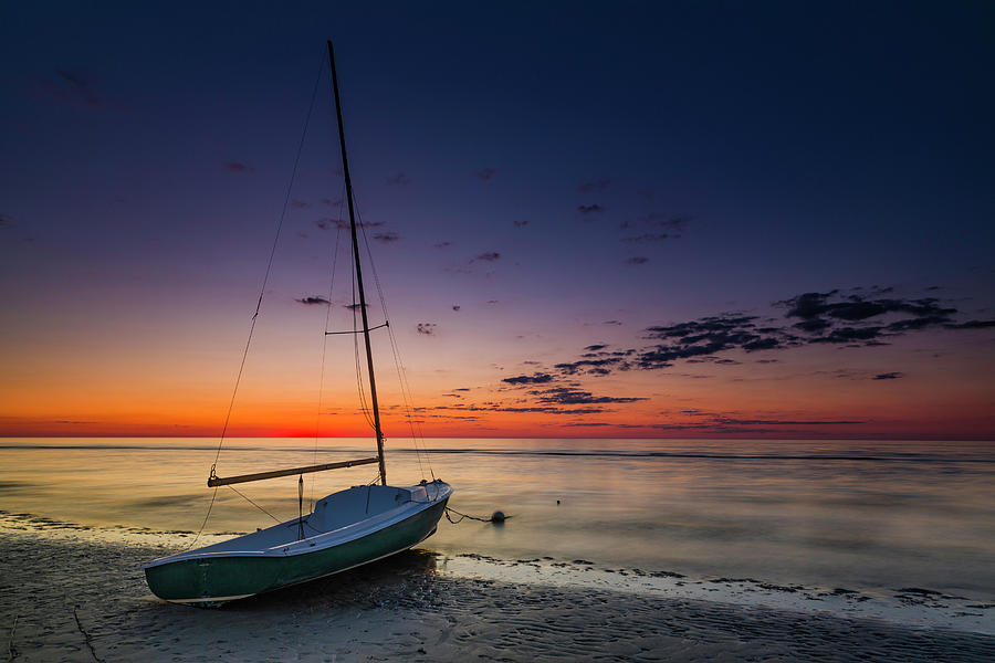 Cape Cod Sunset by Fran Gallogly