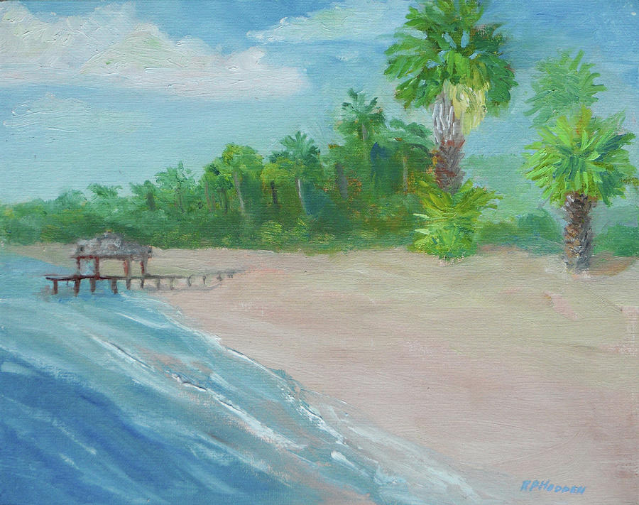 Cape Coral Beach by Robert P Hedden