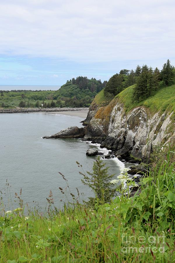 Cape Disappointment Vertical by Carol Groenen