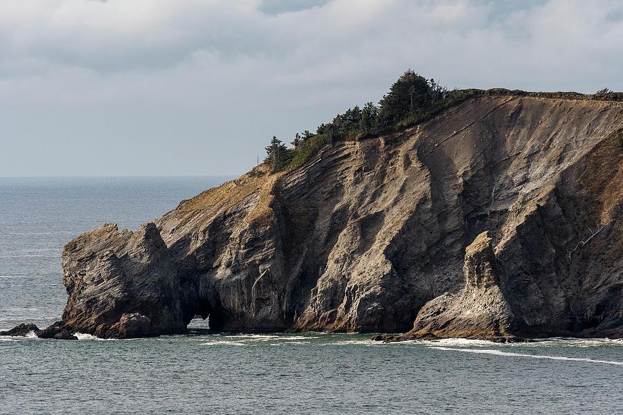 Cape Falcon Cliffs by Robert Potts