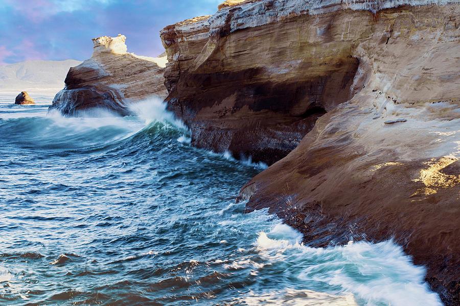 Cape Kiwanda Oregon V4 by Rospotte Photography