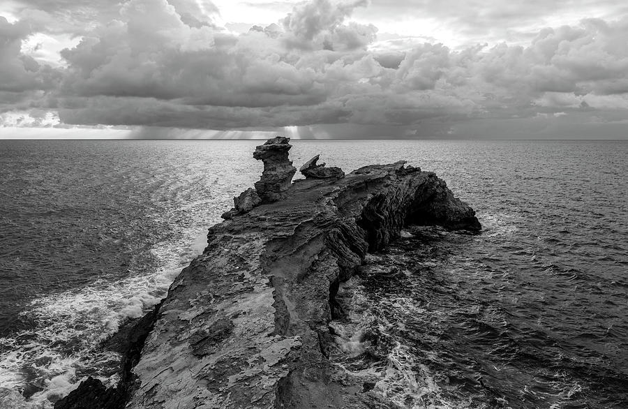 Cape Martinet a cloudy day, Ibiza, Spain by Vicen Photography