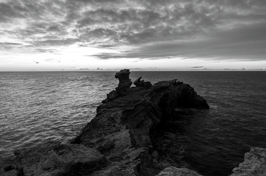 Cape Martinet a cloudy day in Ibiza, Spain by Vicen Photography
