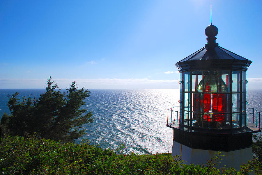 Cape Meares Lighthouse by SCENIC EDGE PHOTOGRAPHY