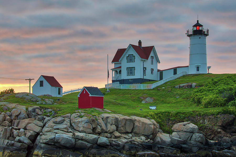 Cape Neddick Light Station by Juergen Roth