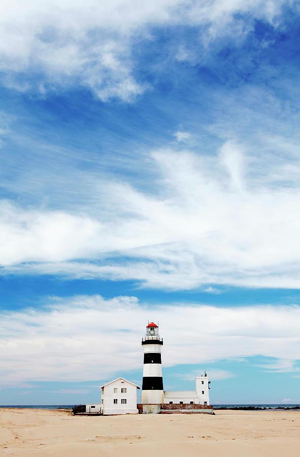 Cape Recife Lighthouse, Port Elizabeth Photograph by Neil Overy