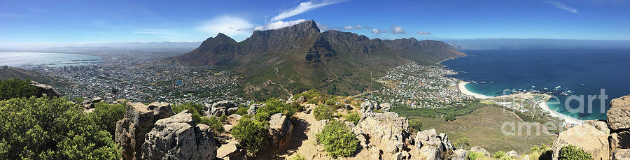 Cape Town Panorama Photograph by Wldavies
