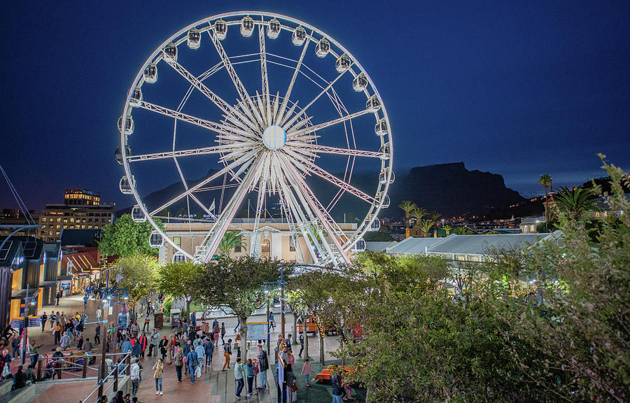 Cape Town Waterfront Fun by Marcy Wielfaert