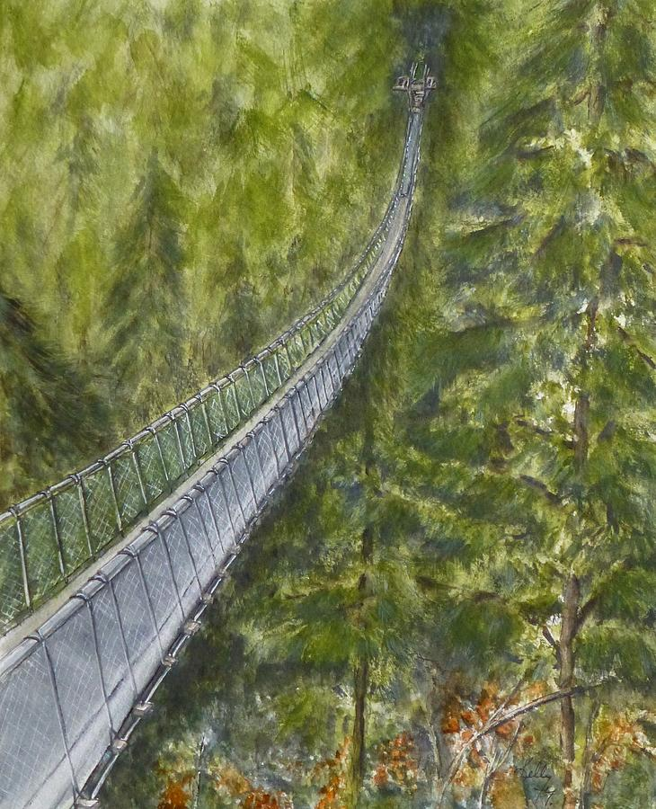 Capilano Suspension Bridge BC by Kelly Mills