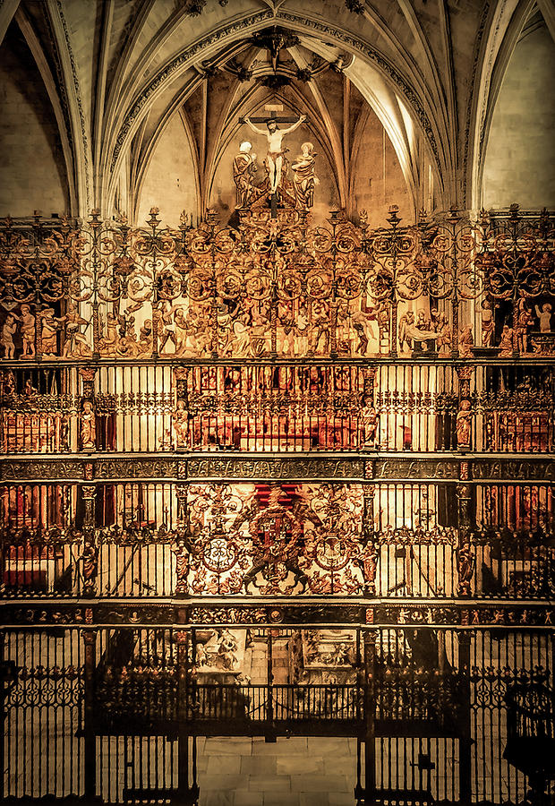 Capilla Real Photograph - Capilla Real The Royal Chapel in Granada by Art Spectrum