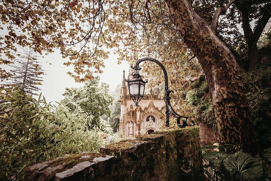 Quinta Photograph - Capilla Santisima Trinidad, Quinta De Regaleira by Cavan Images