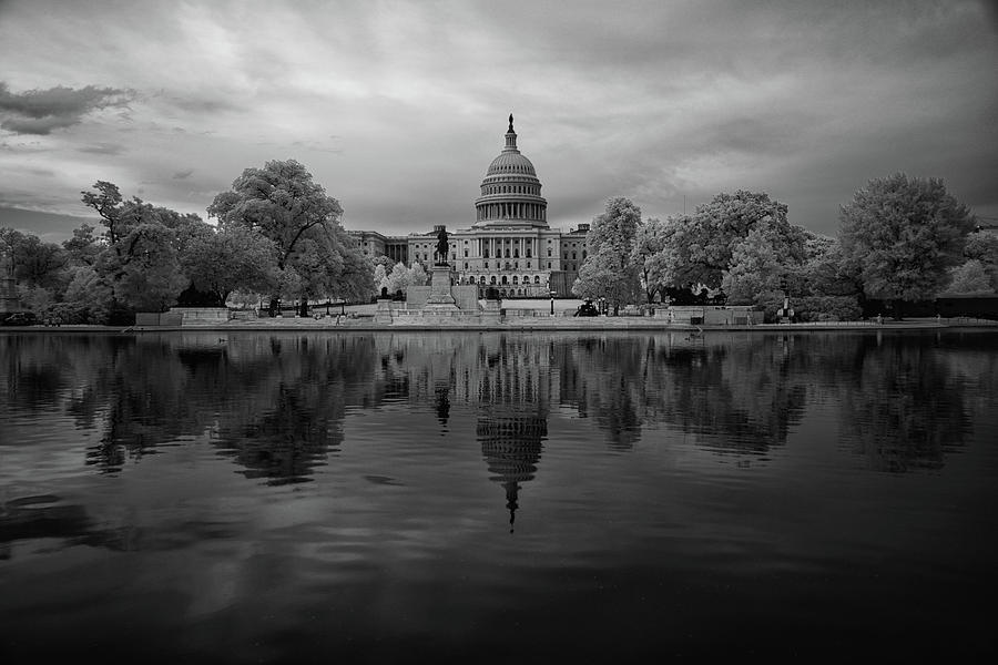 Capitol in Infrared 1 by Lynda Fowler