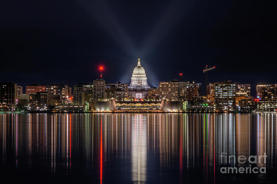 Capitol Reflection Centered by Jackie Johnson