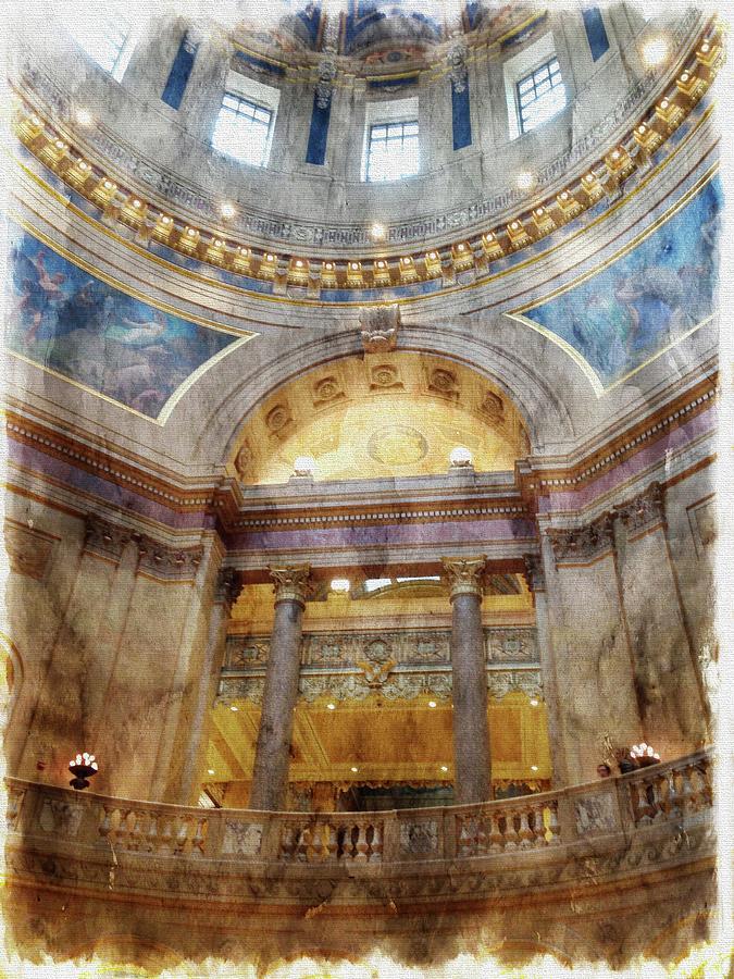 Capitol Rotunda by Tom Reynen