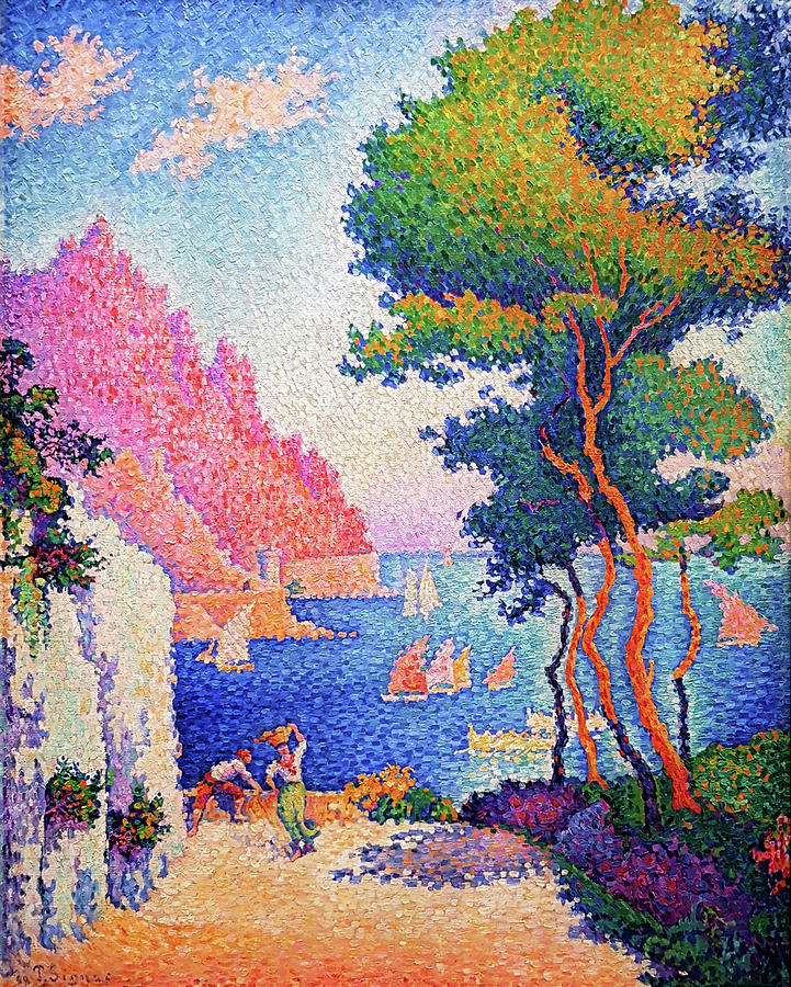 Paul Signac Painting - Capo Di Noli - Digital Remastered Edition by Paul Signac