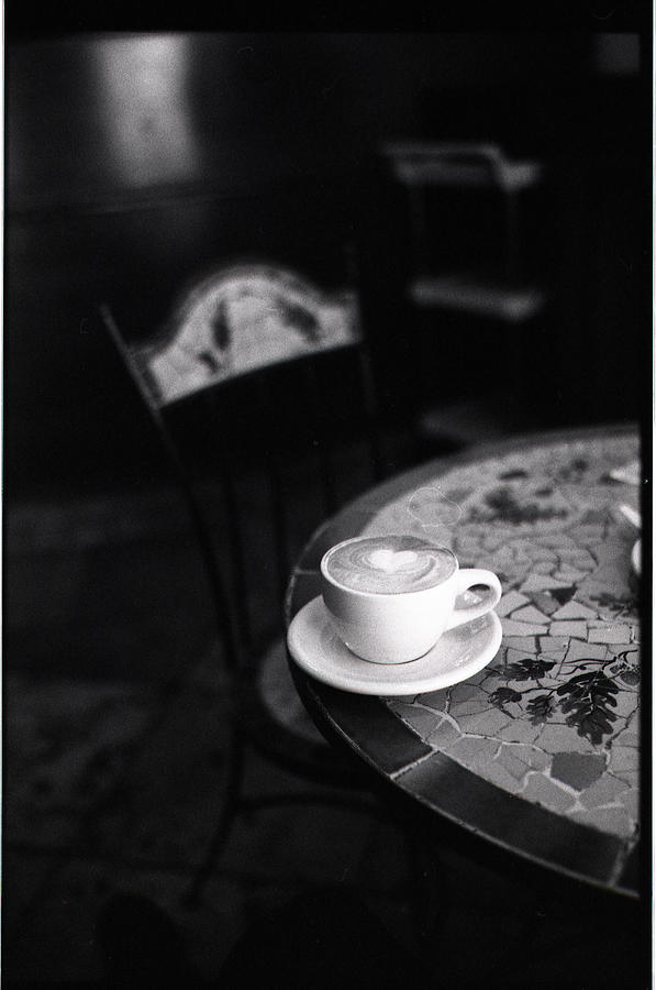 Cappuccino Heart Photograph by Seth Restaino