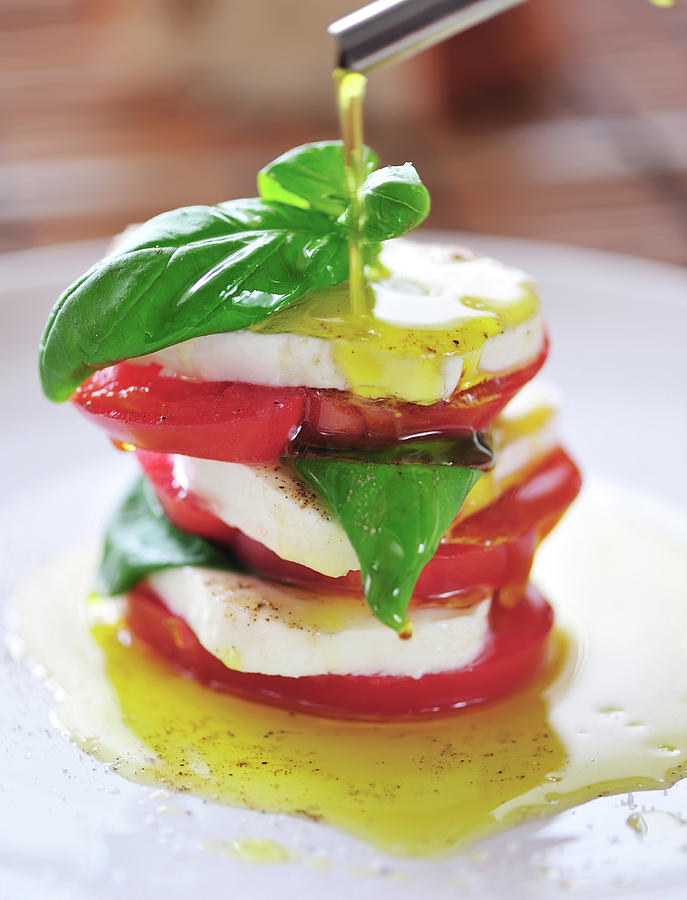 Caprese Photograph by Tanya f
