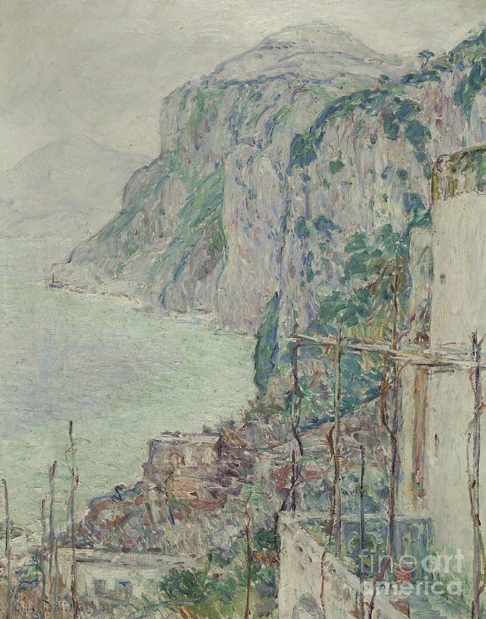 Capri Painting - Capri, 1897  by Childe Hassam