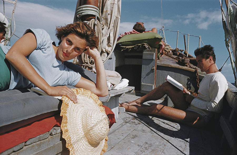 Capri Cruise Photograph by Slim Aarons