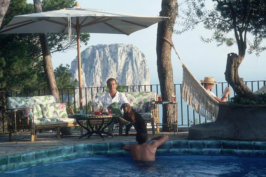 Capri Hotel Photograph by Slim Aarons