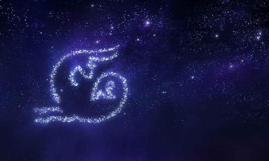 Capricorn Zodiac Sign Digital Art by Da-kuk