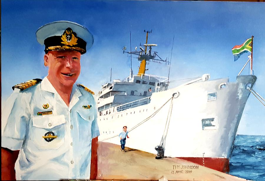 Capt Glen Hallett by Tim Johnson