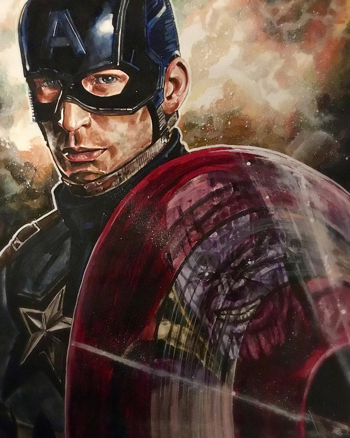 Captain America by Joel Tesch