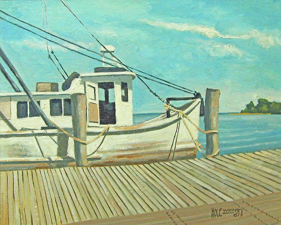 Florida Painting - Captain Fuzz by Robert Holewinski