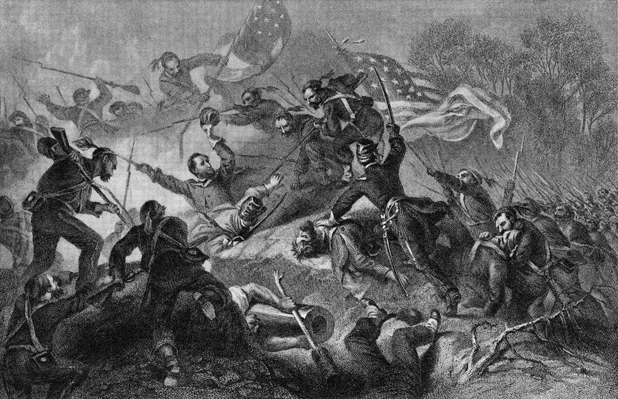 Capture Of Roanoke Photograph by Kean Collection