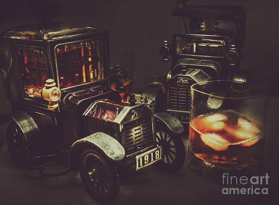 Whisky Photograph - Car Club by Jorgo Photography - Wall Art Gallery