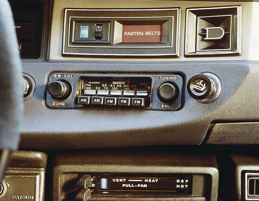 Car Radio, Close-up Photograph by Tom Kelley Archive