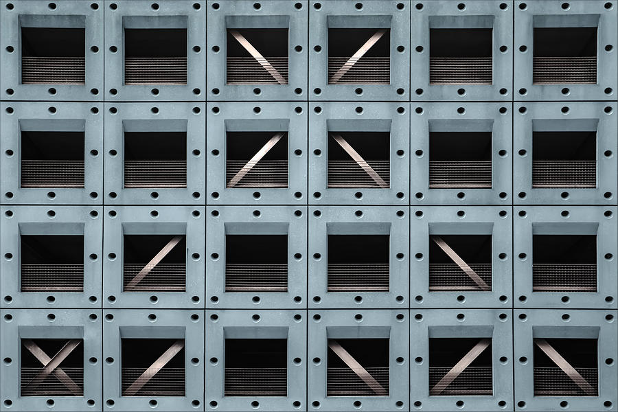 Parking Photograph - Car Shelter by Gilbert Claes