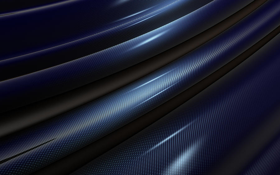 Carbon  Fiber Photograph by Ilexx