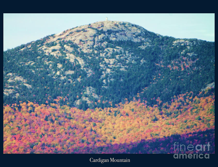 Cardigan Mountain Photograph - Cardigan Mountain Fall by Christine Segalas