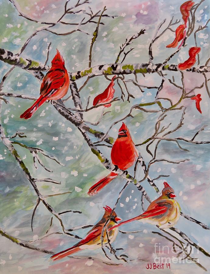 Cardinals by Janice Best