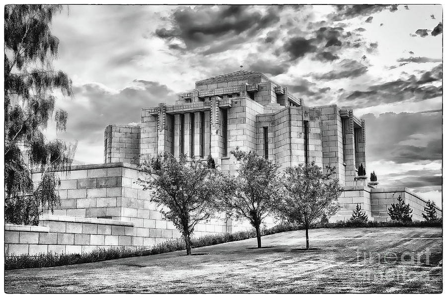 Cardston Alberta Temple 3 by Teresa Zieba