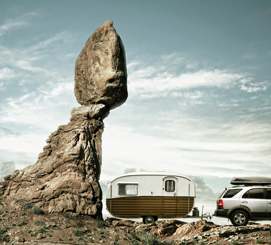 Careless Camping Photograph by Colin Anderson