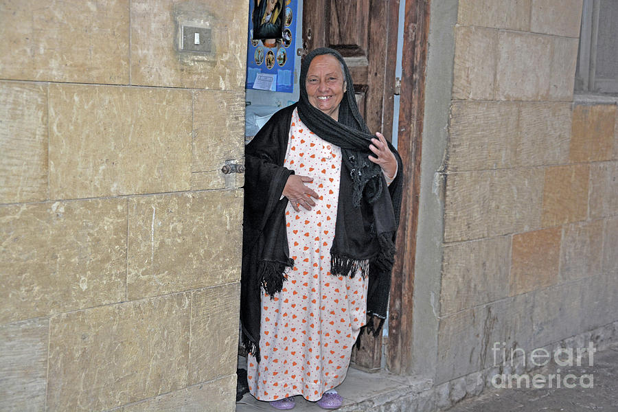 Caretaker in Old Cairo by Andrea Simon