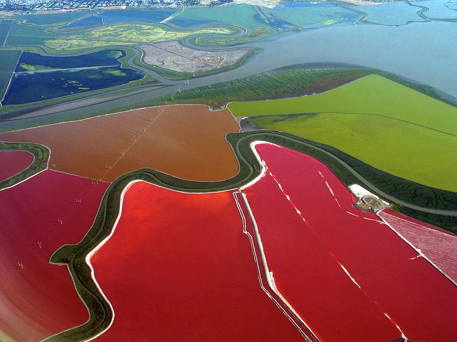 Cargill Salt Ponds Photograph by Kevin Kemmerer
