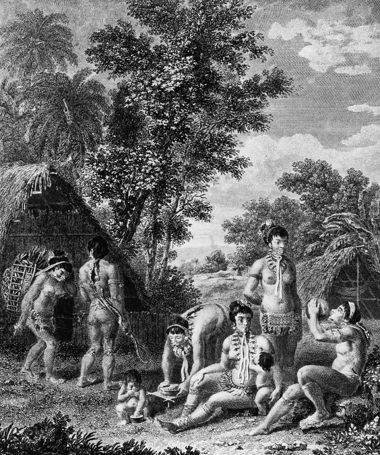 Carib Family Photograph by Hulton Archive