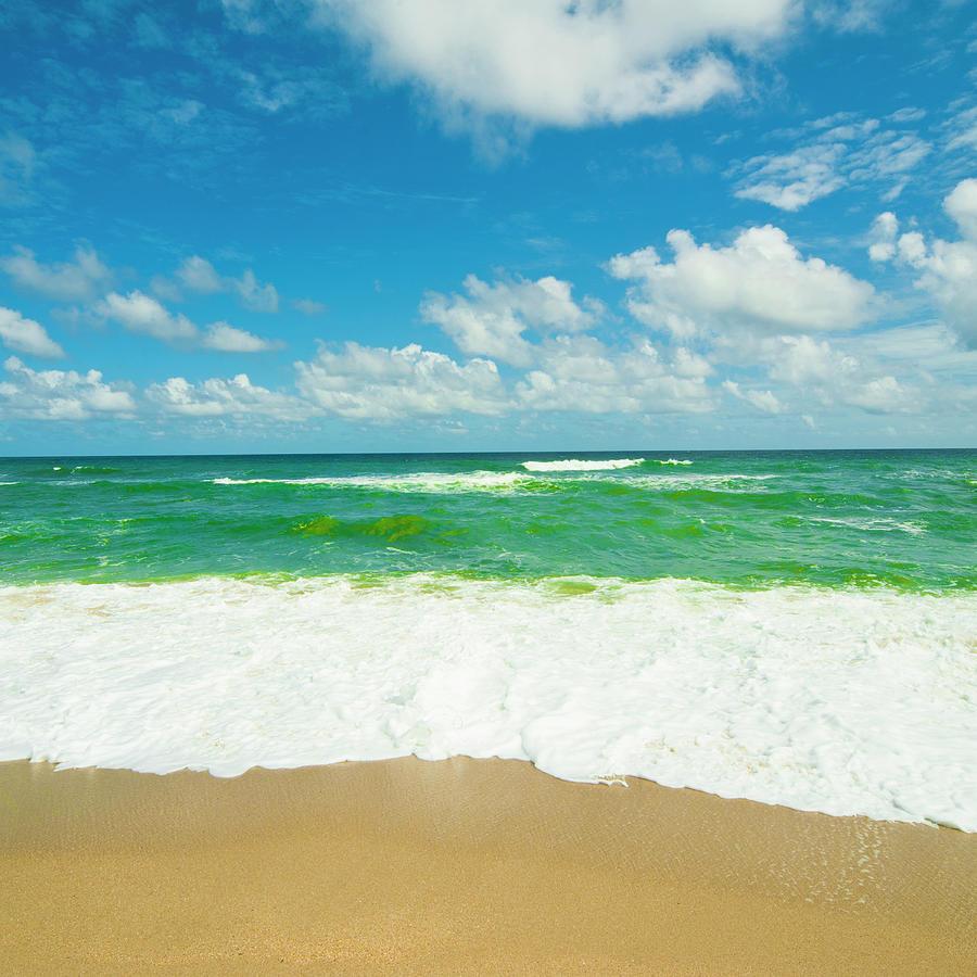 Caribbean Beach: Caribbean Beach Photograph By John Harper