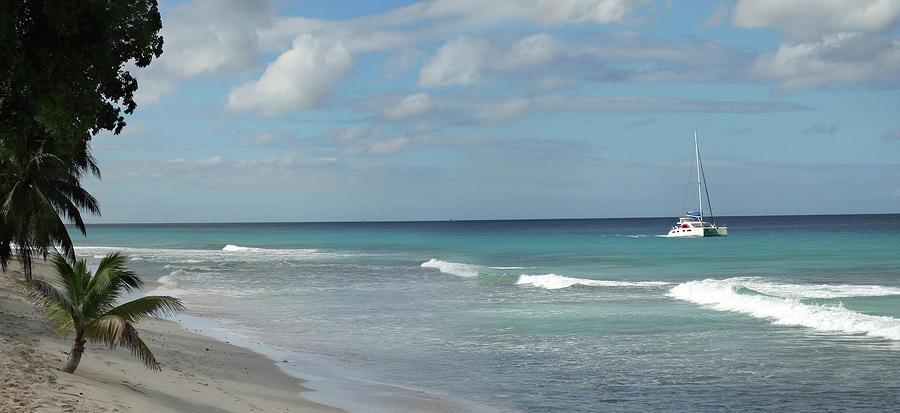 Caribbean Beach by Mike McGlothlen