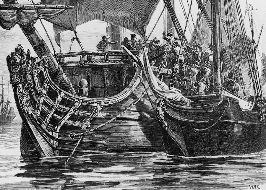 Caribbean Pirate Photograph by Hulton Archive