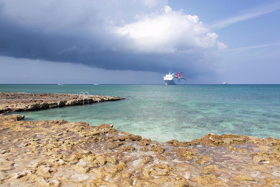 Caribbean Pool by Ramunas Bruzas
