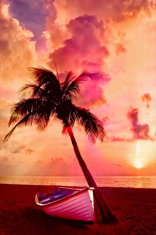 Caribbean Sun by KaFra Art