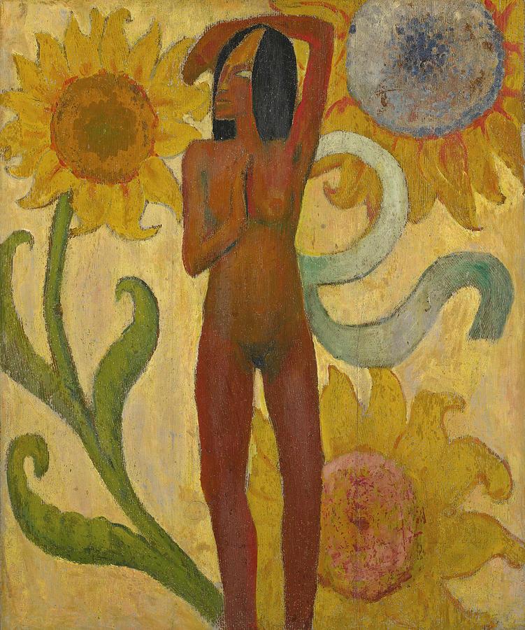 Caribbean Woman by Paul Gauguin